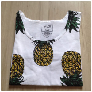 0b8e45e8e6958 Valor Pineapple Print Tank