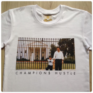 0c3ba58dc6706 Hasta Muerte Pablo Champions Hustle Tee In White