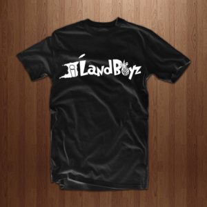 56858e5ed46 Iland Boyz Gear Script Logo Tee. (Black)